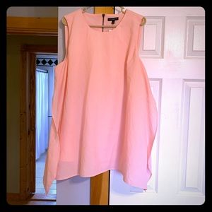 Light pink swing top